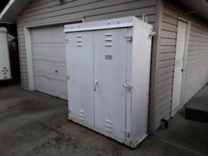 Heavy duty steel cabinet