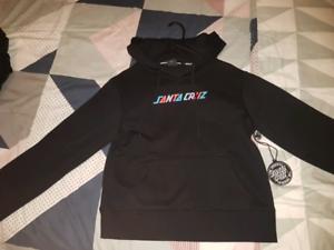 New - Ladies/ girls santa cruz hoodie ( size 10 ) $40