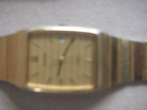 Men's Pulsar GOLD Dress Watch