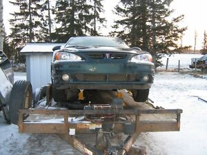 99-05 Grand Am GT for parts green in color loaded grey inside