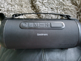 Goodman's speaker for sale very loud Bluetooth connects to any phone