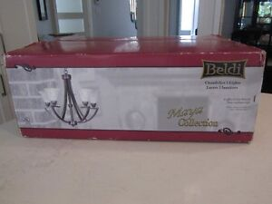 Brand New from the Box:  5-light Chandelier!