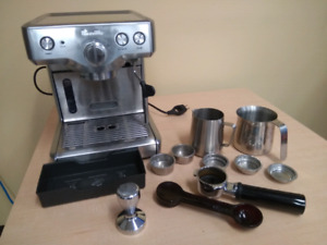 Breville 800ESXL Espresso Machine w/ Additional accessories