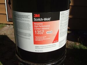 3M SCOTCH WELD NEOPRENE CONTACT ADHESIVE/CEMENT-5 GAL CAN