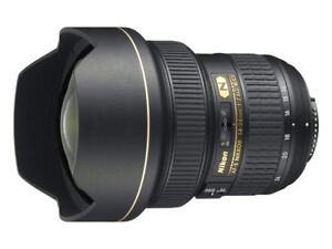 Gently Used Nikon 14-24mm f/2.8G ED AF-S Nikkor Wide Angle Zoom