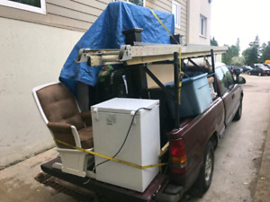 Junk removal/moving prompt, convenient & cost-effective