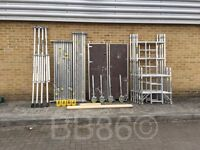 Alloy Scaffold Towers & Spares For Boss Youngman, Euro, Lewis, & Eiger Towers