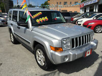 2006 Jeep Commander LIMITED…7 PASSENGER SEATING…PERFECT COND.