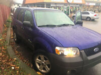 EXCELLENT CONDITION 2006 FORD ESCAPE SUV, CROSSOVER FOR SALE