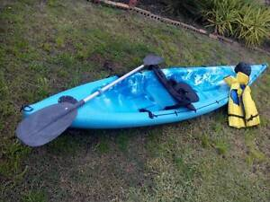 3.6M Single Sit-On Fishing Kayak, include Seat, Paddle... Mill Park Whittlesea Area Preview