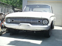 1961 FORD FALCON 2 DOOR SEDAN  PROJECT