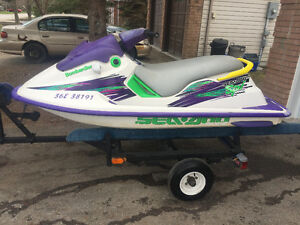 1996 Seadoo SPI and trailer