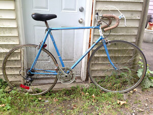 Raleigh Record road bike, large frame