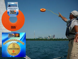 TOSS N SAVE-Mandatory Heaving Line in every Boat  -