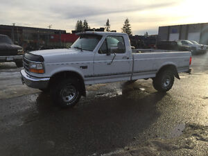 1996 Ford F-150 Xl heavy half Pickup Truck