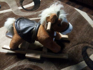 Stuffed Rocking Horse