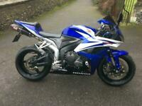 2007(07) Honda CBR600RR-7 - SuperSport - Tahitian Blue /Pearl White 25554 miles