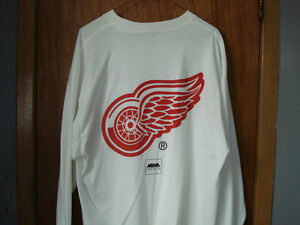 """""""NEW"""" Detroit Red Wings Long Sleeve Pullover Shirt"""