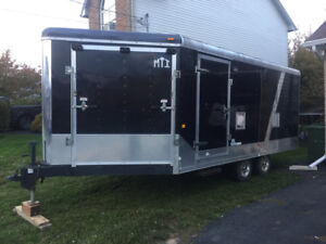 2011 MTI v nose cargo trailer