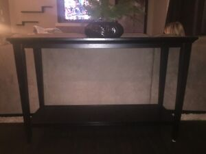 Sofa Table from Finesse Home Furnishings Strathcona County Edmonton Area image 1