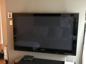 Panasonic 58'' TV with Blueray.