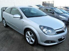 "2008 08 Vauxhall Astra 1.4i 16v Sport Hatch SXi 3 Door, Full Leather 17"" Alloys"
