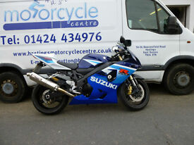 2005 Suzuki GSXR600 GSX-R600 K5 Sports Bike / Nationwide Delivery / Finance