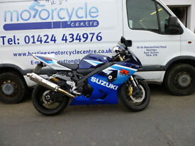 2005 Suzuki GSXR600 GSX-R600 K5 Sports Bike / Nationwide Delivery