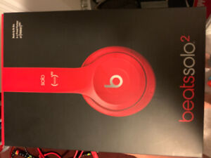 BEATS SOLO 2 PRODUCT RED