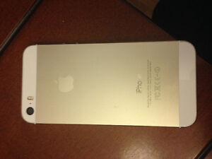 Cellulaire iPhone 5 S gold