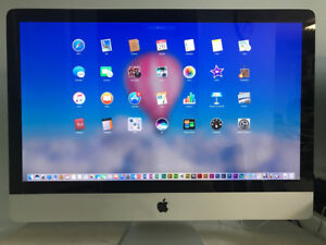 "27""+Core i3_Apple iMAC_A1312_3.20GHz_8GB_1TB HD_Cam_DVD_ BT_WiFi"
