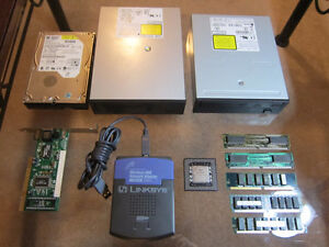 Computer components, $5-20 each, see listing for details