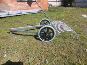 Stick Rake For Ride On Mower Home Garden Gumtree