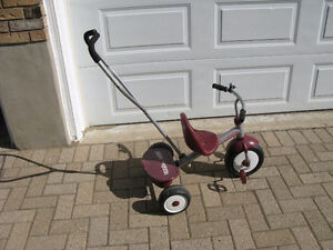 Radio Flyer Tricycle with optional parent steering
