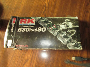 Motorcycle RK  0-Ring Chain 530SO106 Links