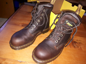 Dr. Martens Steel Toe Boots size 10 US