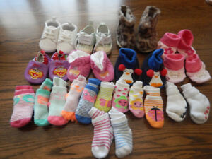 Baby socks, slippers, shoes