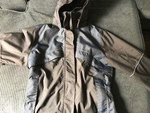 Mountain horse winter jacket with reflective piping