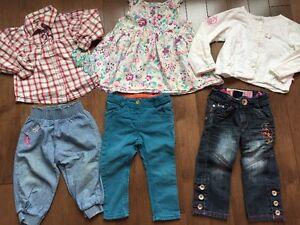 Lot de vêtements pour fille Souris Mini, Mexx, Gagou Tagou,