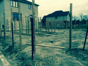 Straightline Fence, Deck and Post Hole Specialist London Ontario image 2