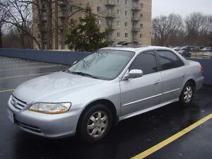 2002 Honda Accord EX-L Sedan