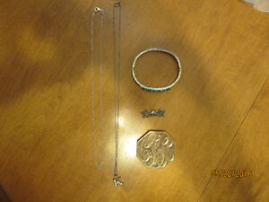 Small collection of Sterling silver jewellery