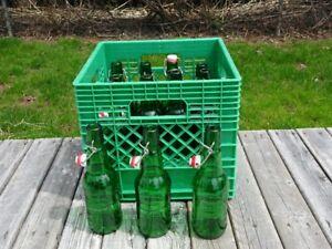 Grolsch - pop top beer bottles (resealable)
