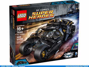 Lego DC Super Heroes UCS 76023 The Tumbler, New