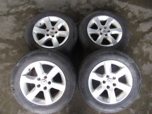 NISSAN ALTIMA WHEELS WITH BRAND NEW SUMMER TYRES