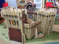 Early Learning Centre wooden castle
