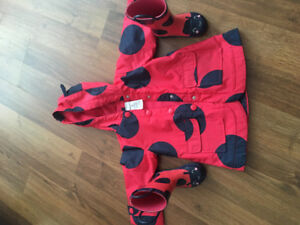 Toddler spring jackets   rain boots