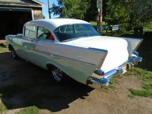 57 chev stainless  150 model
