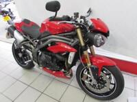 TRIUMPH SPEED TRIPLE S 1050, 16 REG ONLY 890 MILES, SEAT COWL, HEATED GRIPS...