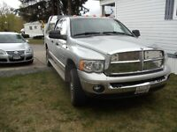 2005 Dodge Power Ram 3500 gray Pickup Truck